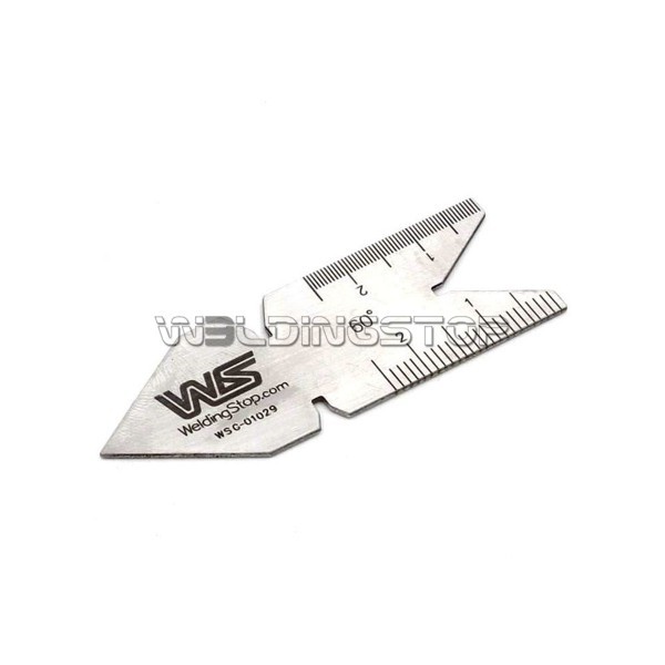 Center Gauge 60 Degree Screw Thread Gage 0.1mm/0.05mm Graduations Metric Reading stainless steel