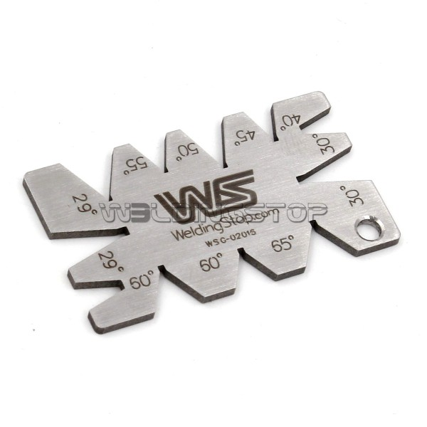 Stainless Steel Screw thread Cutting angle gage Gauge Measuring Tool
