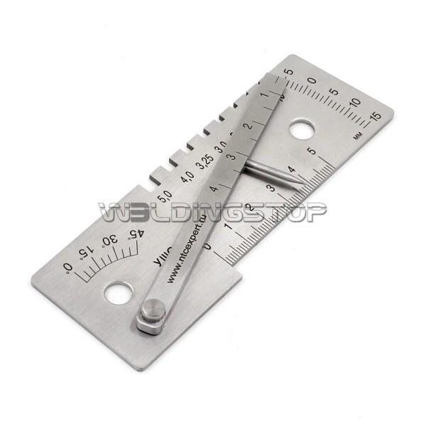 Multi-function weld inspection Gauge MIG/TIG/STICK welding gage mesure tool
