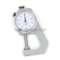 INSPECTION DIAL THICKNESS GAUGE GAGES / 0.1mm X 20mm / Flat measure head