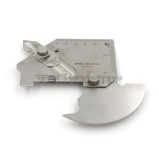 MG-8-B Bridge CAM Gauge Welding Gauge Weld Fillet Throat Gage Undercut/Misalignment Inch/mm Slotted