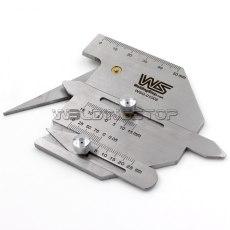 HJC-60 Welding Seam Gauge Weld Fillet Gage Undercut/Misalignment Inspection Tool Metric Multiple-Pur