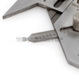 Pipe throat welding inspection gage Mini Sub Socket Weld Gauge