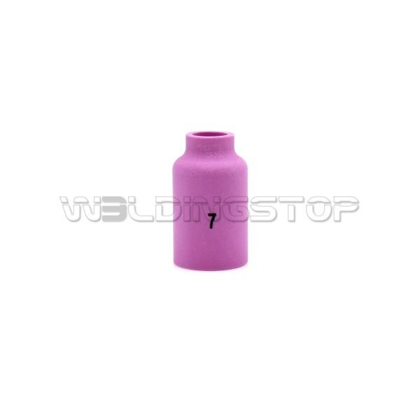 54N15 #7 Alumina Gas Lens Ceramic Nozzle 7/16'' 11mm fit TIG Welding Torch WP-17 WP-18 & WP-26