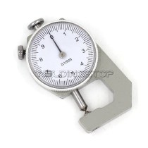INSPECTION DIAL THICKNESS GAUGE GAGES / 0.1mm X 10mm / round measure head