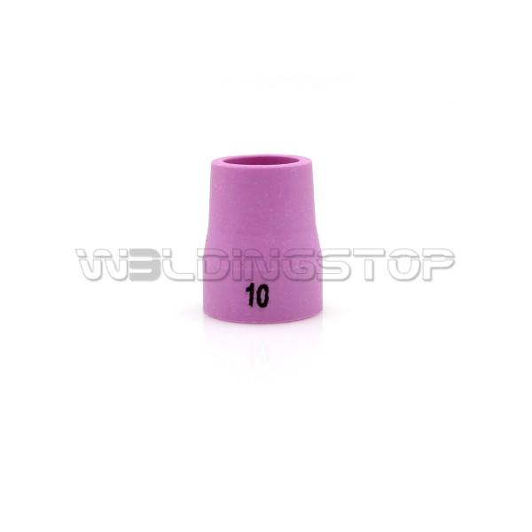 14N61-10 #10 Alumina Ceramic Nozzle 5/8'' 16mm fit TIG Welding Torch WP-12