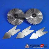 Screw Pitch Cutting Gage Thread Gauge Centre Gage 55&60° Standard & Metric PKG4