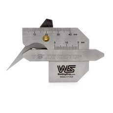HJC-40B Welding Gauge Weld Seam Reinforcement Gage Fillet Leg Length/Throat Tools Bevel Angel Metric