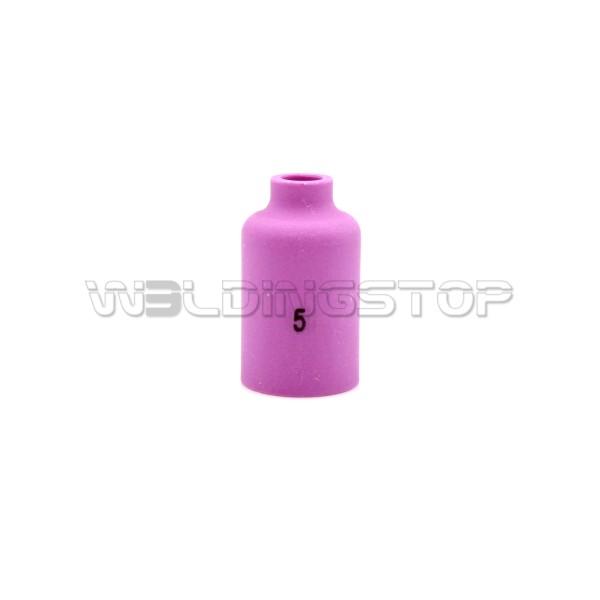 54N17 #5 Alumina Gas Lens Ceramic Nozzle 5/16'' 8mm fit TIG Welding Torch WP-17 WP-18 & WP-26