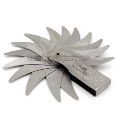 Radius gage Gauge Fillet set R52-100mm Concave Convex arc end internal external
