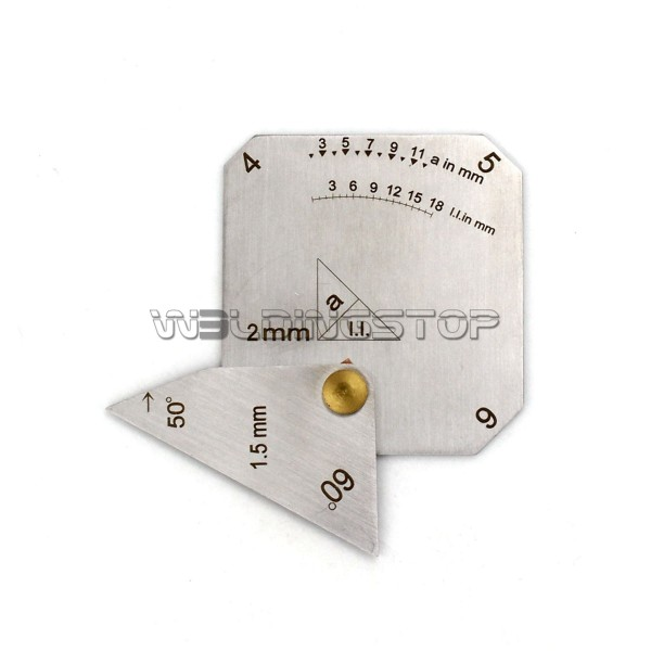Square Welding Gauge Multi-function welding inspection Janpanese Style
