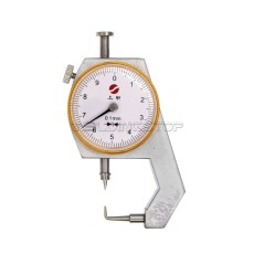 INSPECTION DIAL THICKNESS GAUGE GAGES / 0.1mm X 10mm / Pin shape measure head