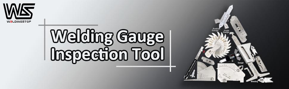 WS Genuine Taper Gauge Welding Gage Slot Width Gap Hole Size Inspection Tools