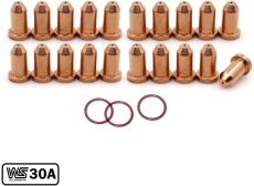 249927 Tip & O-Ring for Miller Spectrum 375/625 X-TREME Cutter XT30/XT40 Torch 23-PKG