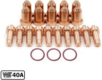 770797 Tip 40A 770791 Electrode for Hobart Airforce 40i Cutter XT40R Torch (PKG-23)