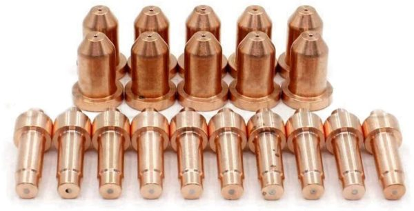 WeldingStop 249928 Tip 40A 249926 Electrode for Miller Spectrum 625 X-TREME Cutter XT40 Torch PK-20