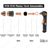 Plasma Cutting XT40 Torch Ref 249926 Electrode 249927 Nozzle 30A for Miller XT30 Torch PKG-10