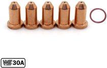 249927 Tip 249969 O-Ring for Miller Spectrum 375/625 X-TREME Cutter XT30/XT40 Torch 6-PKG