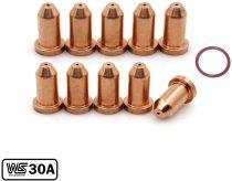 249969 O-Ring 249927 Tip for Miller Spectrum 375/625 X-TREME Cutter XT30/XT40 Torch 11-PKG