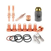 Plasma Kits 5-0075 Fit Thermal Dynamics (Electrode, 40-60A Tip, 9-8237 Shield, 9-8281 Standoff) 19-PKG
