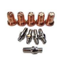 Drag Tip 0.9mm 0.035'' Electrode for Harbor Freight Plasma Cutter 62204 with IPT-40 Torch (10pcs, Tecmo Style)