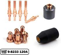 120A Tip 9-8233 Electrode 9-8215 Start Cartridge 9-8213 Use on SL60 SL100 Torch PK-12