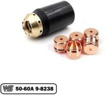 9-8237 & 9-8238 Shield 50-60A for Thermal Dynamics 52/82/102/152 Cutter SL60/SL100 Torch PKG-6