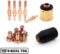 70A Standoff Tip 9-8231 Fit SL60 / SL100 Torch Kits with Electrode 9-8215 OEMed