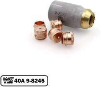 9-8245 Shield 40A + 9-8237 for Thermal Dynamics 52/82/102/152 Cutter SL60/SL100 Torch PKG-6