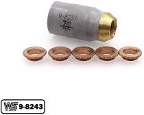 9-8243 Deflector + 9-8237 for Thermal Dynamics 52/82/102/152 Cutter SL60/SL100 Torch PKG-6