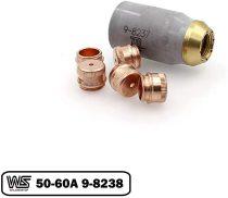 9-8238 Shield 50-60A + 9-8237 for Thermal Dynamics 52/82/102/152 Cutter SL60/SL100 Torch PKG-6