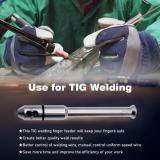 Welding Tig Pen Finger Feeder Rod Holder Filler Wire Pen 1.0-3.2mm (1/32''-1/8'') Welder Accessories