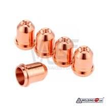 220718 SS plasma cutter torch nozzle tips for Stainless Steel cutting Pkg-5