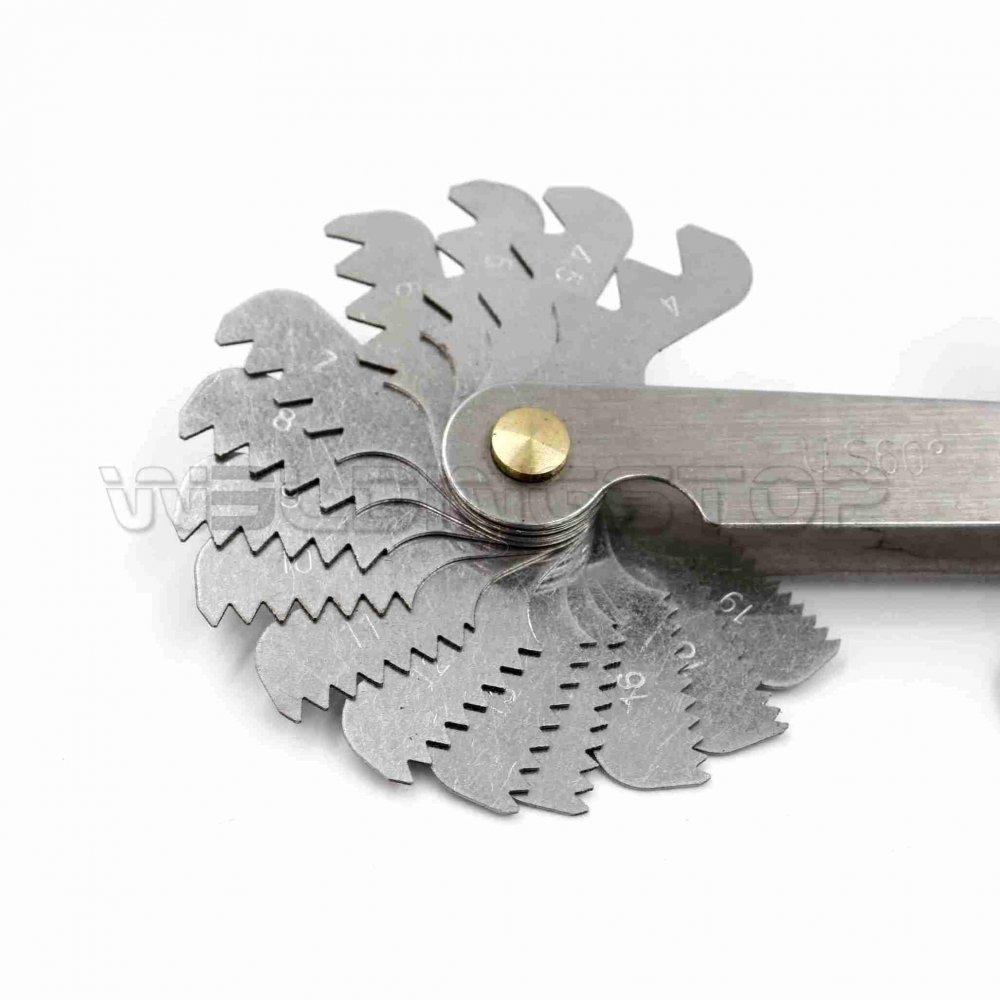 Screw Thread Pitch Gauge Tool Set Thread Pitch Gauge