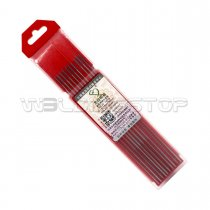 WC20 Ceriated Tungsten Electrode 1/16'' x 6'' or 1.6 x 150mm for TIG Welding Torch