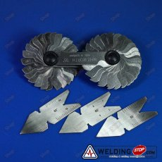 Screw Pitch Cutting Gage Thread Gauge Centre Gage 55&60° Standard & Metric PKG4