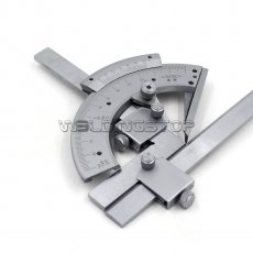 Universal Bevel Protractor 320 degree Angular Dial Stainless steel angle Gauge