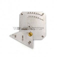 Square Welding Gauge Multi-function welding inspection Janpanese Style