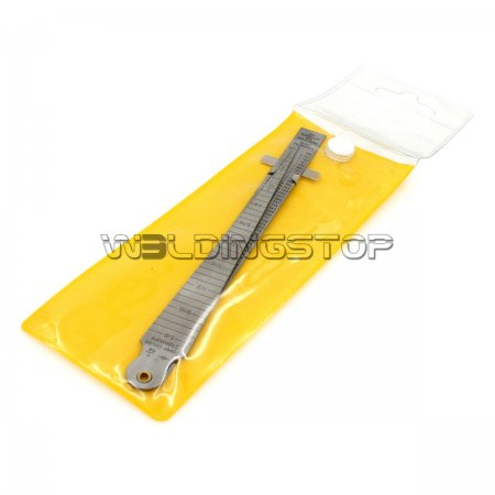 Welding Taper gage gauge Depth ruler stainless steel set gap hole inspection