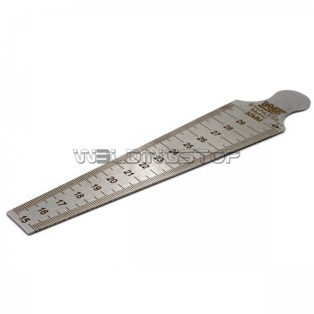 Taper Gauge Weld Gap Slot Width Gage Range of 15-30mm 5/8''- 1''3/16 Measure in Inch/mm