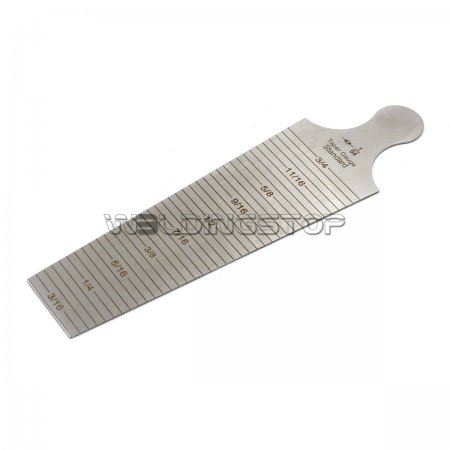 Taper Gauge Welding Hole Width/Diameter Gage Weld Inspection 30-45mm 3/16'' - 3/4'' Inch/mm