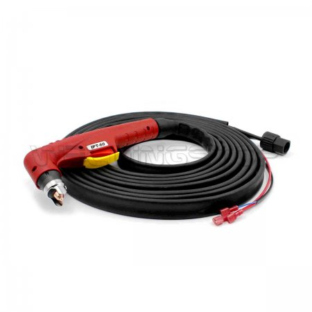 09637CX Torch Head Hand with 6m 20ft Cables for PT-60 Plasma Cutting Torch (WeldingStop Replacement Consumables)