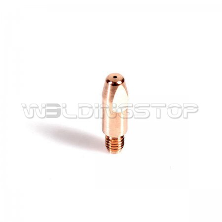 140.0242 Contact Tip 1.0mm M6 x 28mm for Binzel MIG Welding 24KD Gun (WeldingStop Replacement Consumables)