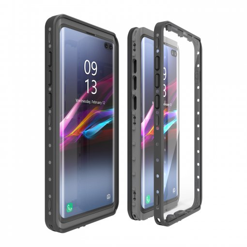 Galaxy S10 6.4 Waterproof Shockproof Full-Body Protect Case