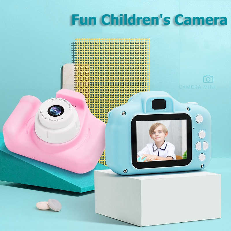 Children 1080p HD 2 Inch Large Screen Educational Digital Camera