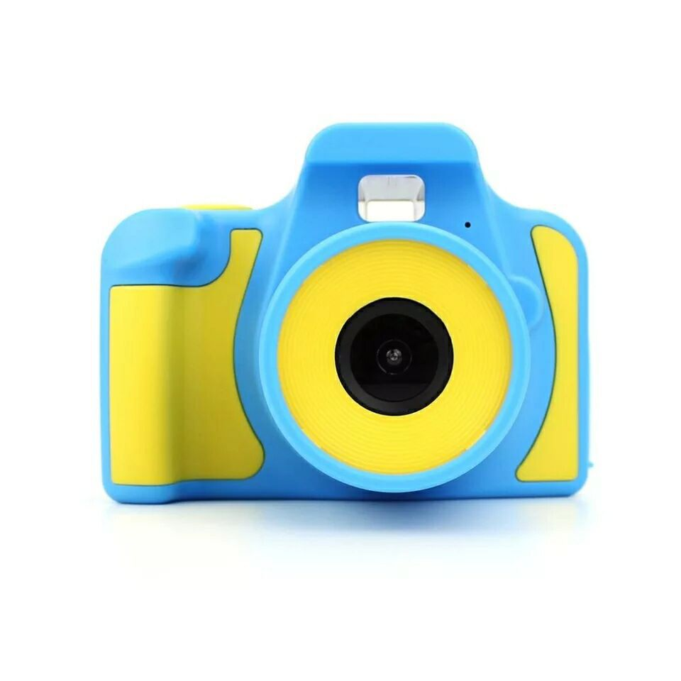 Children SLR Camera Kids Digital Camera Toy 1080P HD Display Mini SLR Camera Children Birthday Gift Educational Toy Game Photo
