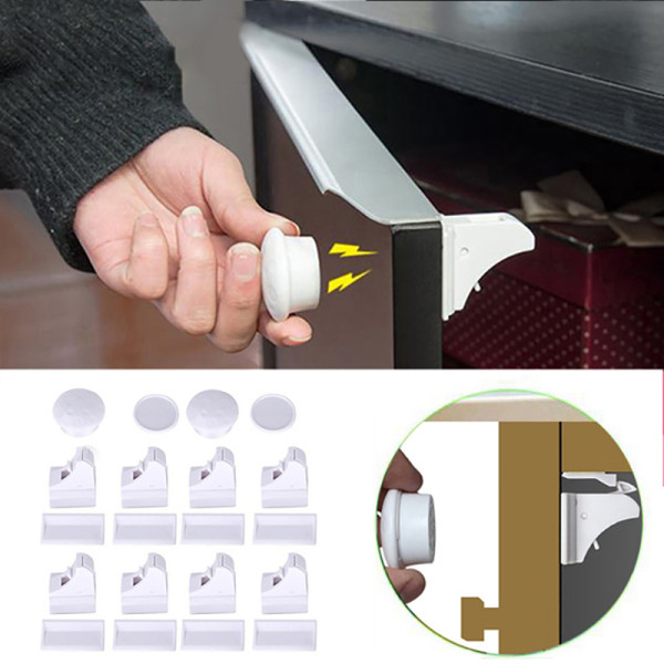 Magnetic Baby Safety Cabinet Lock