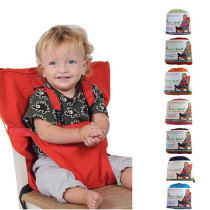 Portable baby chair belt
