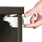 4PCS Magnetic Baby Safety Locks Cabinet Door Drawer Cupboard Lock Children Protection  Baby Security Childproof Baby Stuff