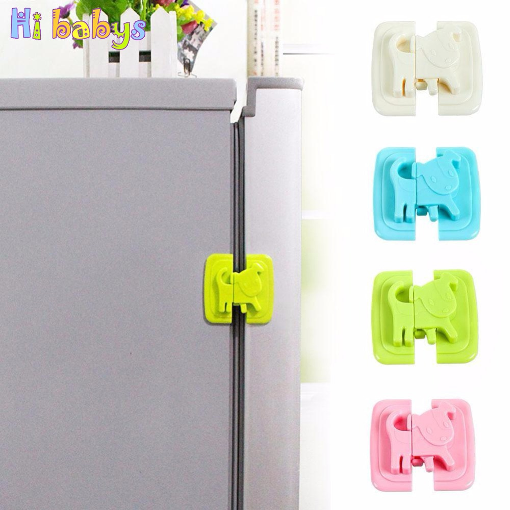 5Pcs Cartoon Puppy Children Safety Locks for fridges